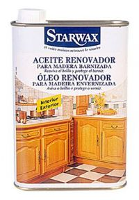 Disbur aceite renovador madera barnizada 500 ml - Limpieza de madera barnizada ...